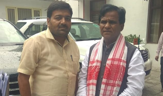Ankur Gupta with Danve