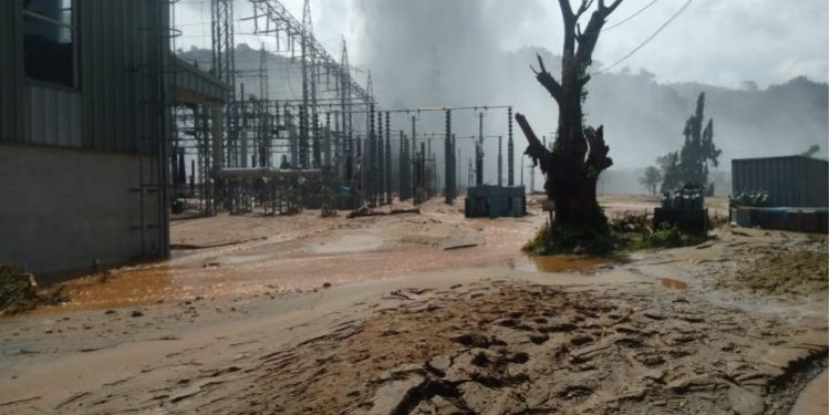 There has been no trace of the four officials, who went missing on Monday following the burst of a pipeline of the power project.