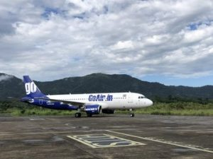 Mizoram chief minister flags off daily GoAir flight from Aizawl 1