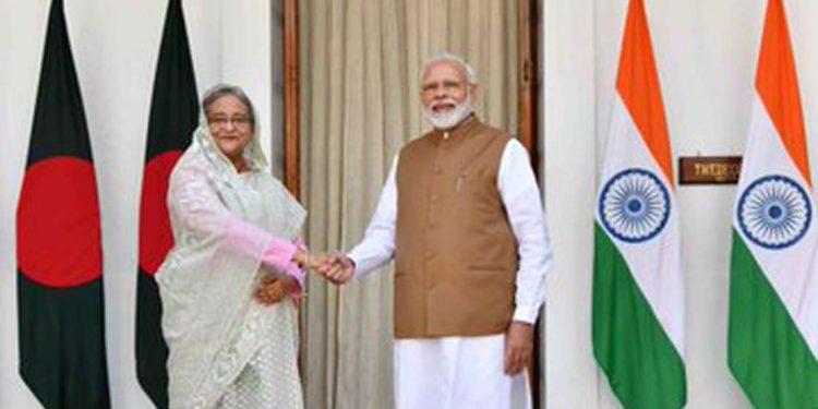 Hasina and Modi