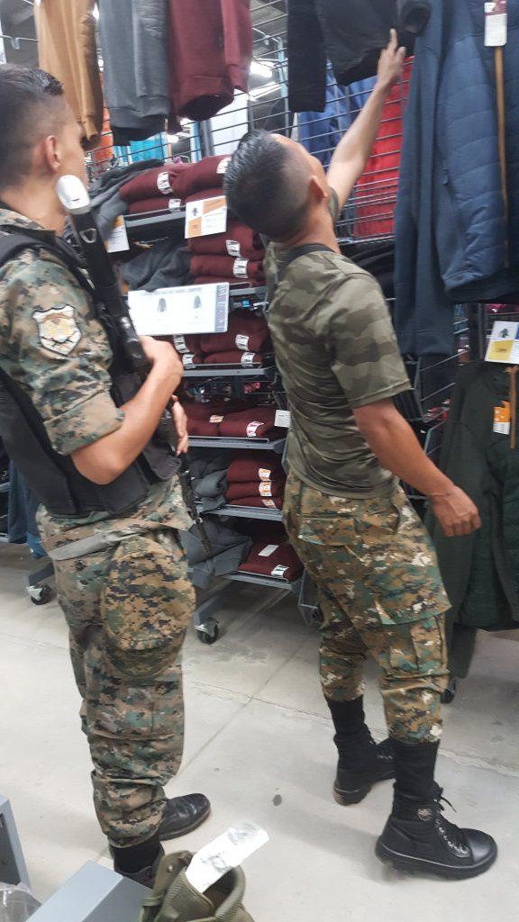 Automatic gun-toting SF 10 commandos panic kids in Decathlon in Guwahati 1