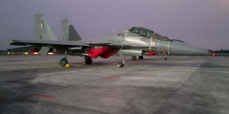 IAF fighter jet
