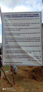 Roadblocks again hit Bru repatriation amid protests 1
