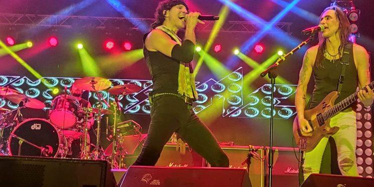 American rock band Extreme rocked the last day of ShiRock 2019. Image courtesy: Mungchan Zimik