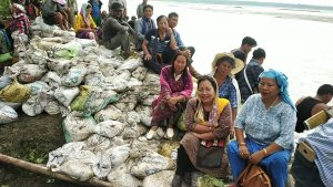 Yirang Welfare Society conducts flood control measures in Arunachal 1