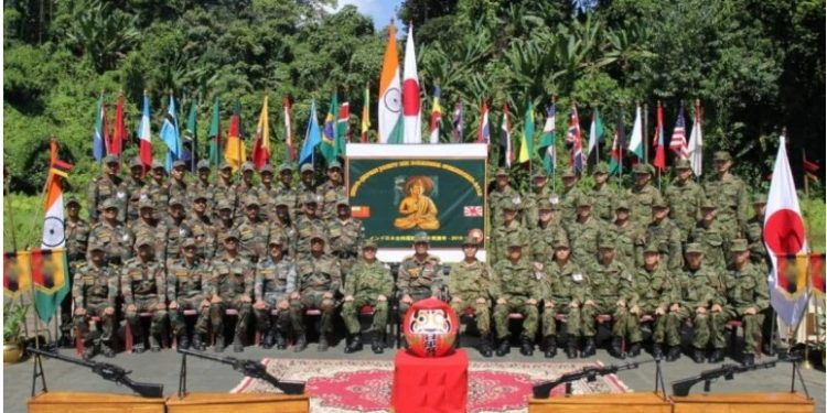 The second edition of joint military exercise Dharma Guardian - 2019 between Indian and Japanese Army begins in Mizoram  on Saturday.