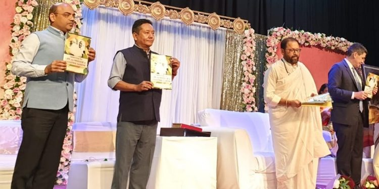 PD Sona releases two books on Mahatma Gandhi at New South Wales in Australia.
