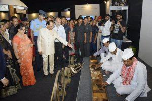 Assam Governor inaugurates multi-media interactive exhibition on Gandhi 1