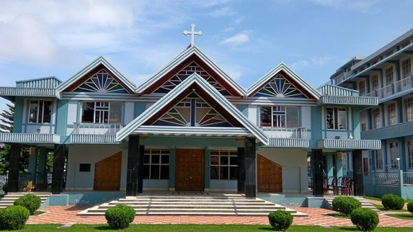 File image of a Presbyterians church in Meghalaya.