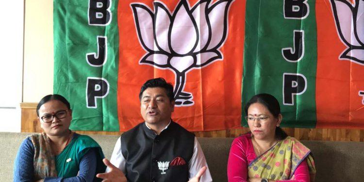 Sikkim BJP chief DB Chauhan