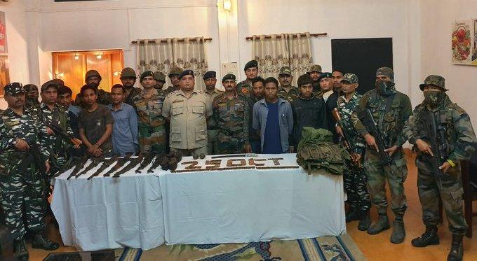 ULFA (I) rebels  surrendered before police at Margherita.   (File image)