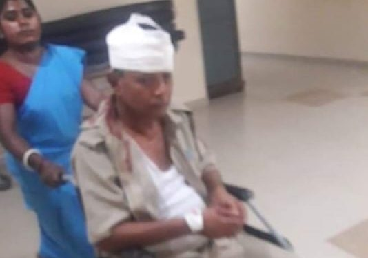 An injured person in hospital. Image: Northeast Now
