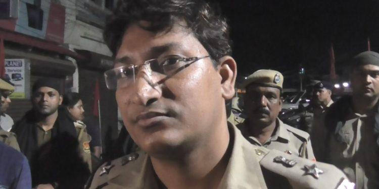 Suspended SP Ajit Pratap Singh