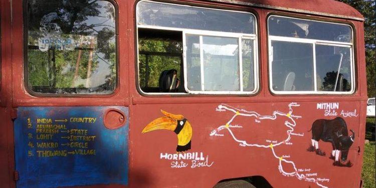 arunachal bus class