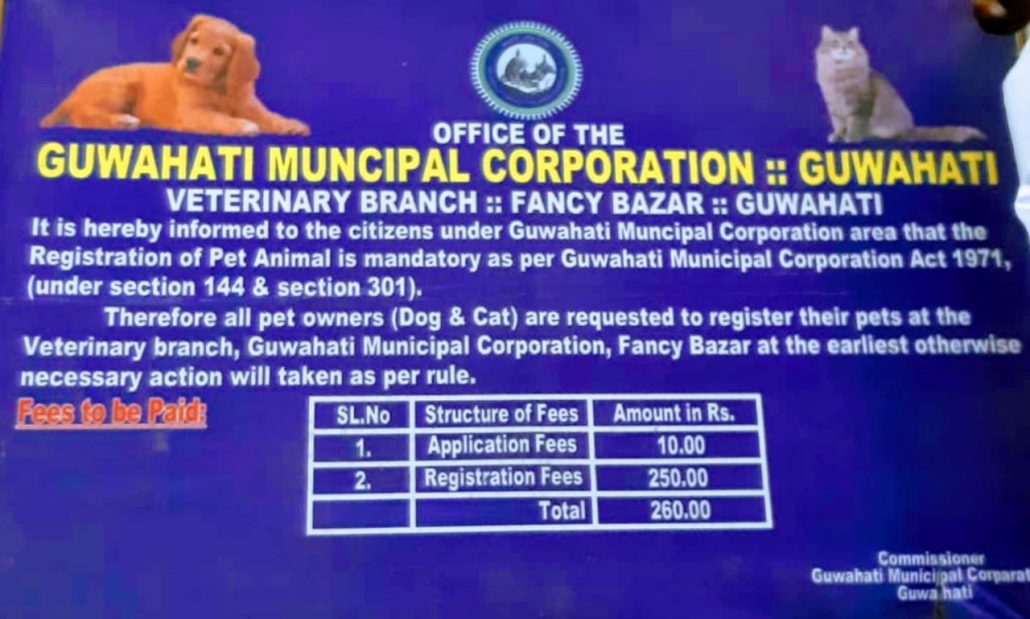 Register your pet dogs and cats or face action: Guwahati Municipal Corporation 1