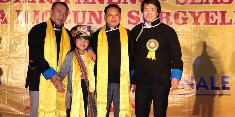 Nima Tsomu of Shagti village and Tenzin Tsongyal Gyamo of Zemithang won the Voice of Dhagpa Rigzhung Sergyaling and Voice of Dhagpaneng respectively.
