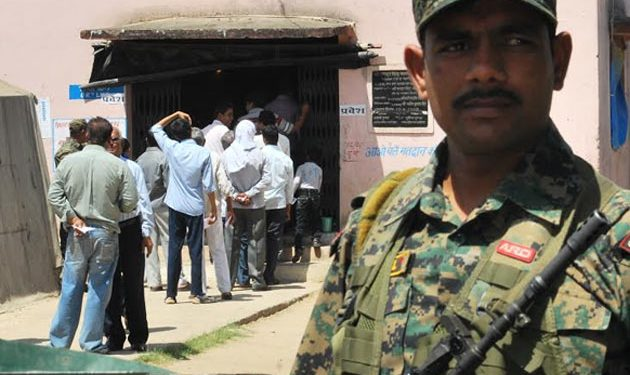 Tripura State Rifles personnel leave for election duty in Haryana 1
