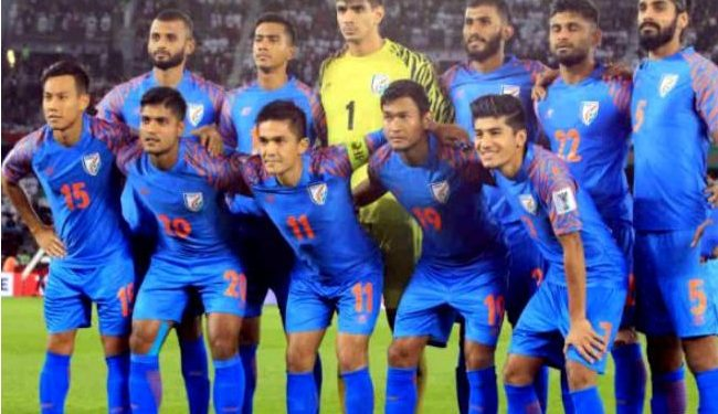 Indian foot ball team (File image)