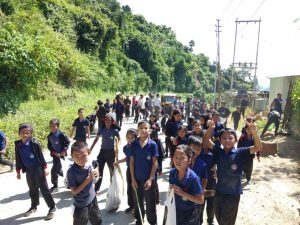 Mizoram: Massive cleaning drive of plastic waste held at Siaha town 1