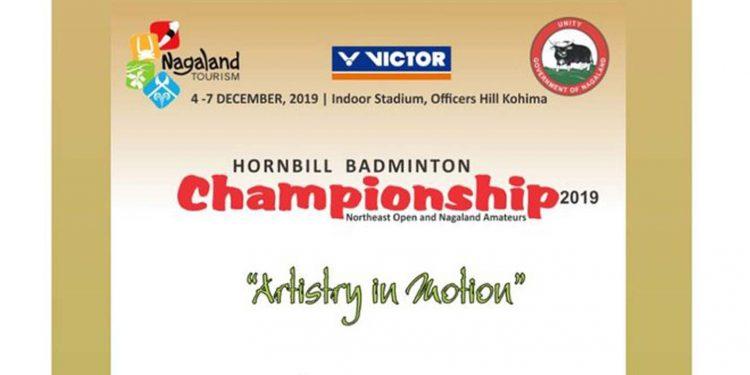 Kohima: Hornbill Badminton C'ship from Dec 4 1