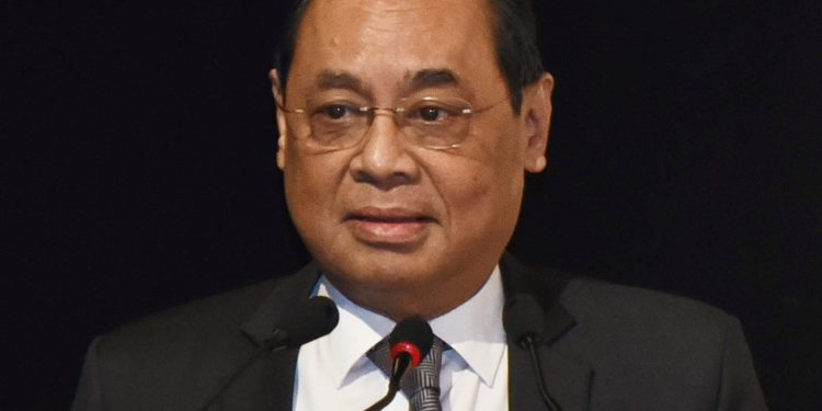 Ex-CJI Ranjan Gogoi.