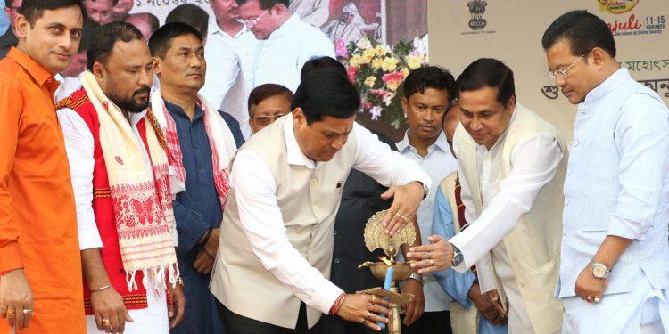 Assam CM inaugurates Raas Mahotsav in Majuli