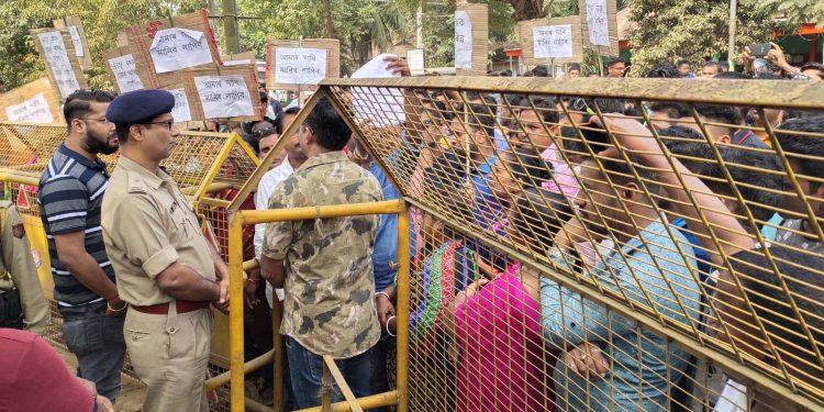 Love Jihad protest in Hojai