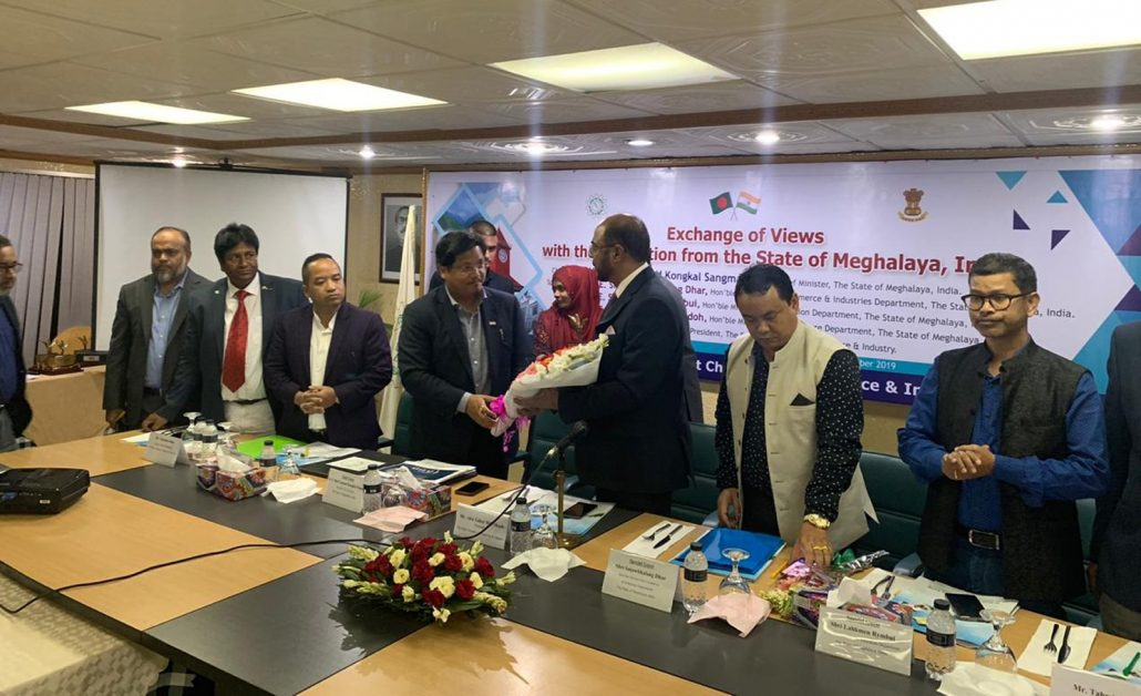 Meghalaya CM begins engagements with Bangladesh 1