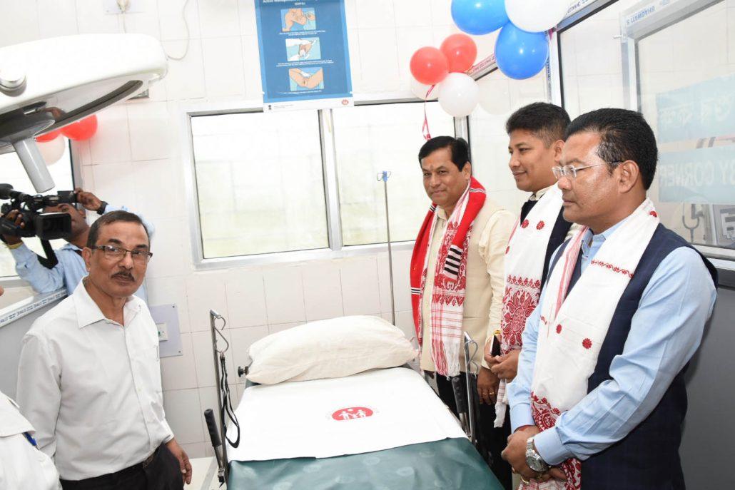 Sonowal inaugurates Jengraimukh Model Hospital in Majuli 3