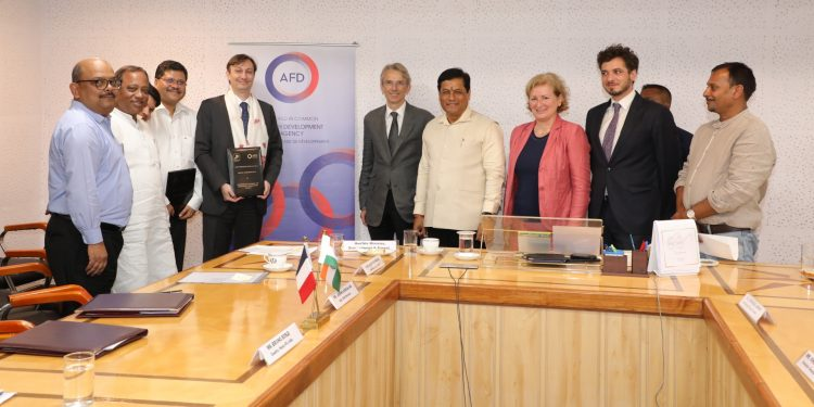 The agreement was signed in presence of Assam CM Sarbananda Sonowal and Ambassador of France to India, Emmanuel Lenain.