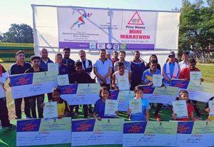 Mini marathon for students at Dibrugarh 1