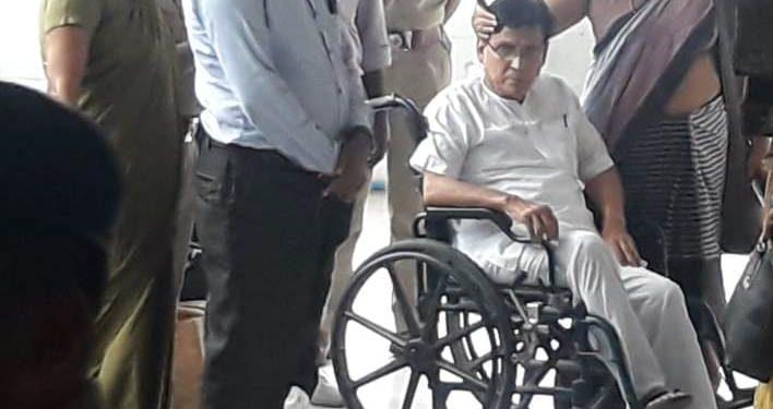 Special judge Sabyasachi Dutta Purakayastha sent Badal Choudhury to 4-day judicial custody.
