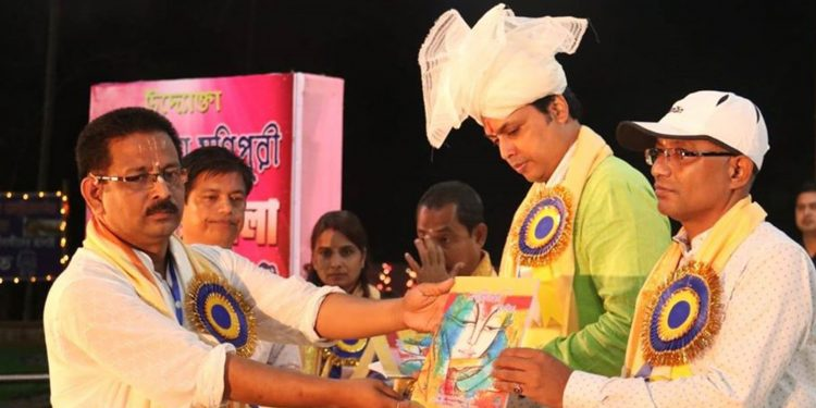 Tripura CM Biplab Deb at Bhramakhunda Mela in Simna