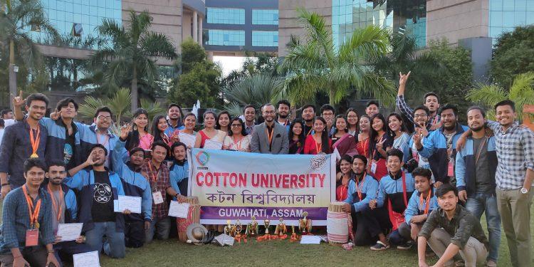 The Cotton University team