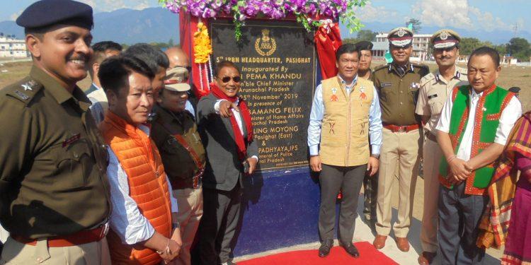 Arunachal CM Pema Khandu at the event in Pashighat on Monday.