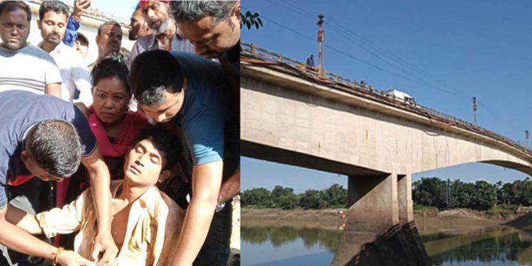Jump from Barak bridge