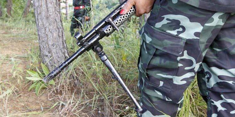 Representational image of Kuki rebels of Manipur