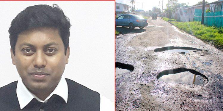 Tezpur MP Pallab Lochan Das (left) said good roads leads to more accident