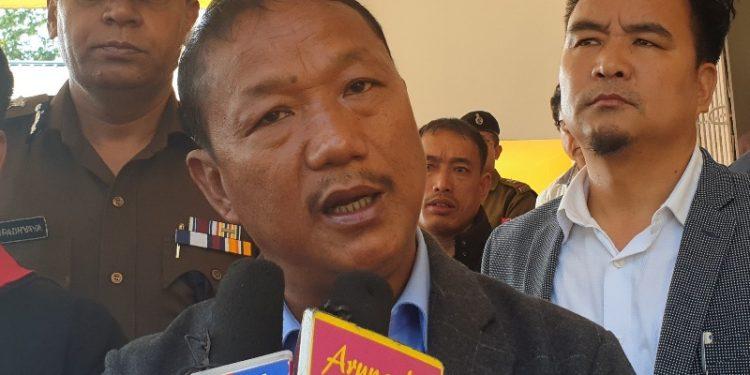 Arunachal Pradesh home minister Bamang Felix.  (File image)