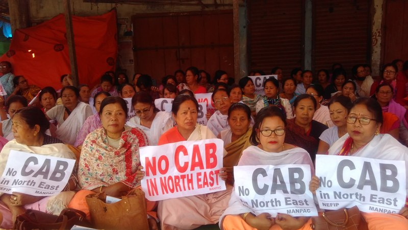 Anti-CAB protest rocks Manipur 3