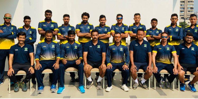 Meghalaya Cricket Team. Image credit: Twitter