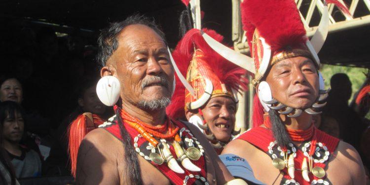 Naga fol artistes at Hornbill Festival (File image)