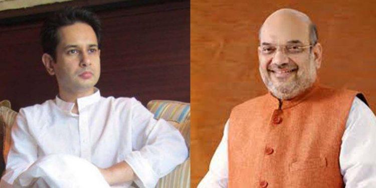 Pradyot and Amit Shah