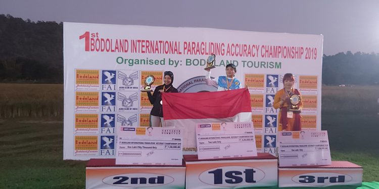 Champions of paragliding championship in Kokrajhar. Image: Northeast Now