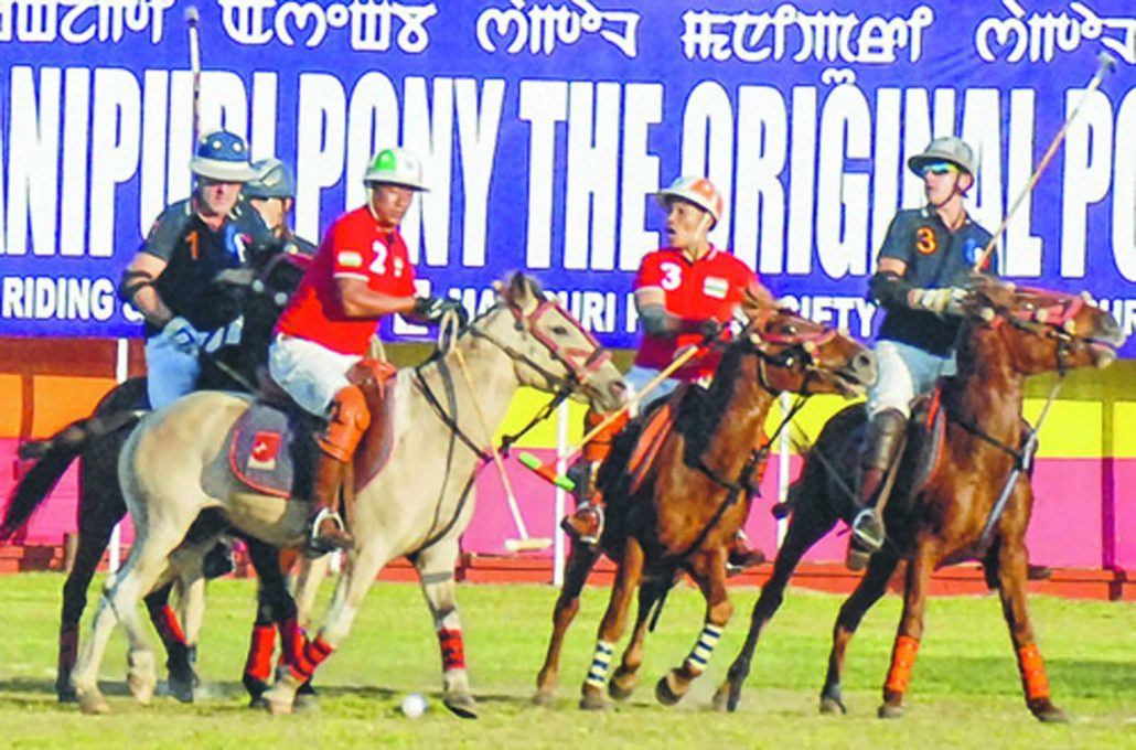 13th Manipur Polo International 2019 underway