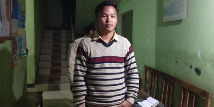 Rape accused Hukumsing Teron