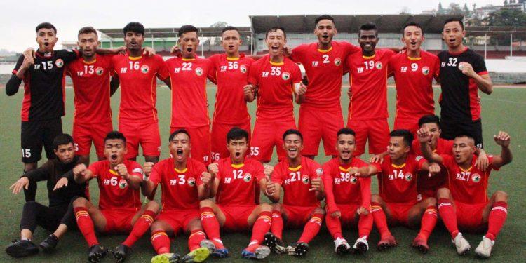 Shillong Lajong FC team. Image credit - www.shillonglajong.com
