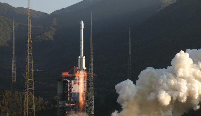 A Long March 3B rocketlaunched the two Beidou navigation satellites from the Xichang Satellite Launching Center