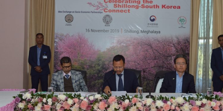 Meghalaya was very keen to cooperate with the Republic of Korea.