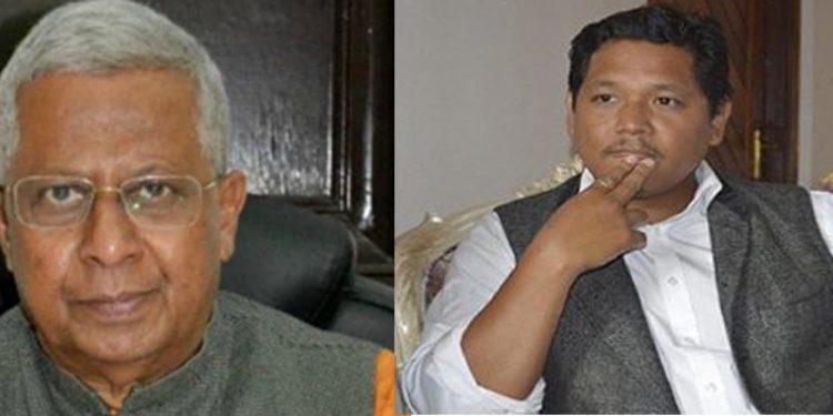 Tathagata Roy and Conrad Sangma